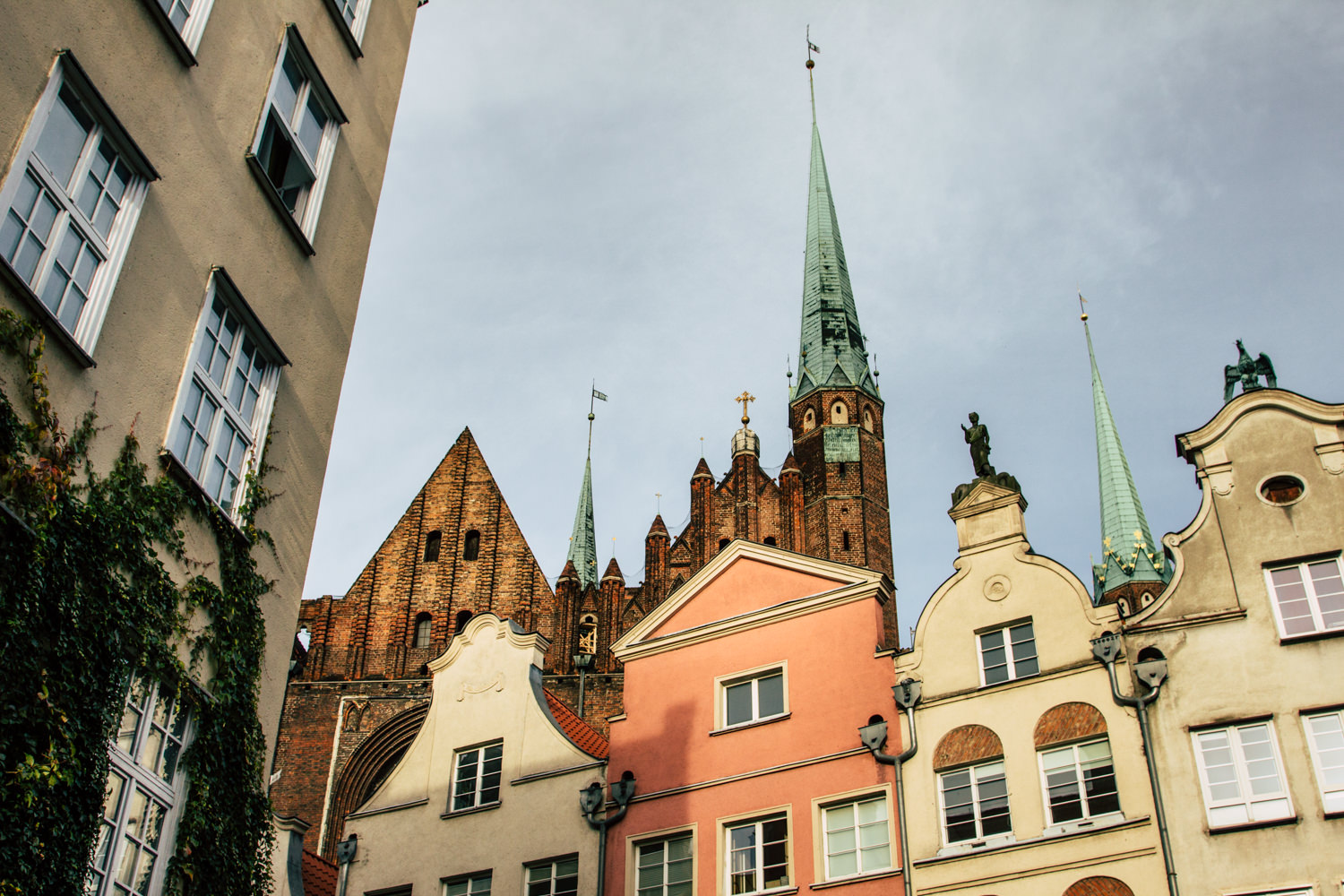 Gdansk Royal Route with colourful facades