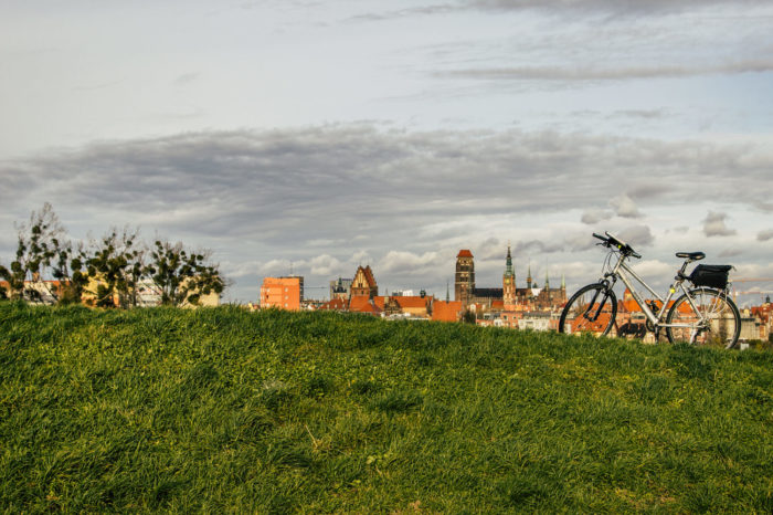 Gdansk city bike tour