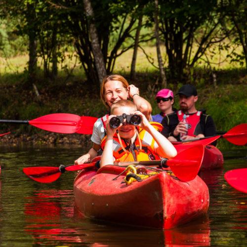 Kayak day tour near Gdansk