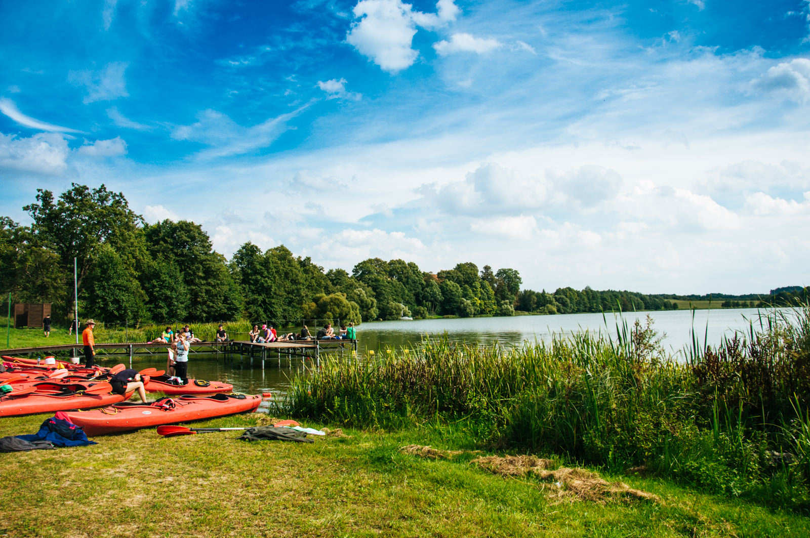 Kayak day tour near Gdansk