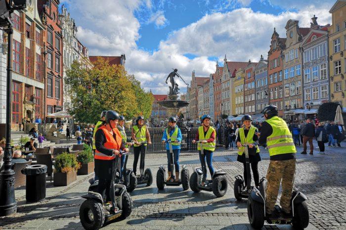 Gdansk by segway